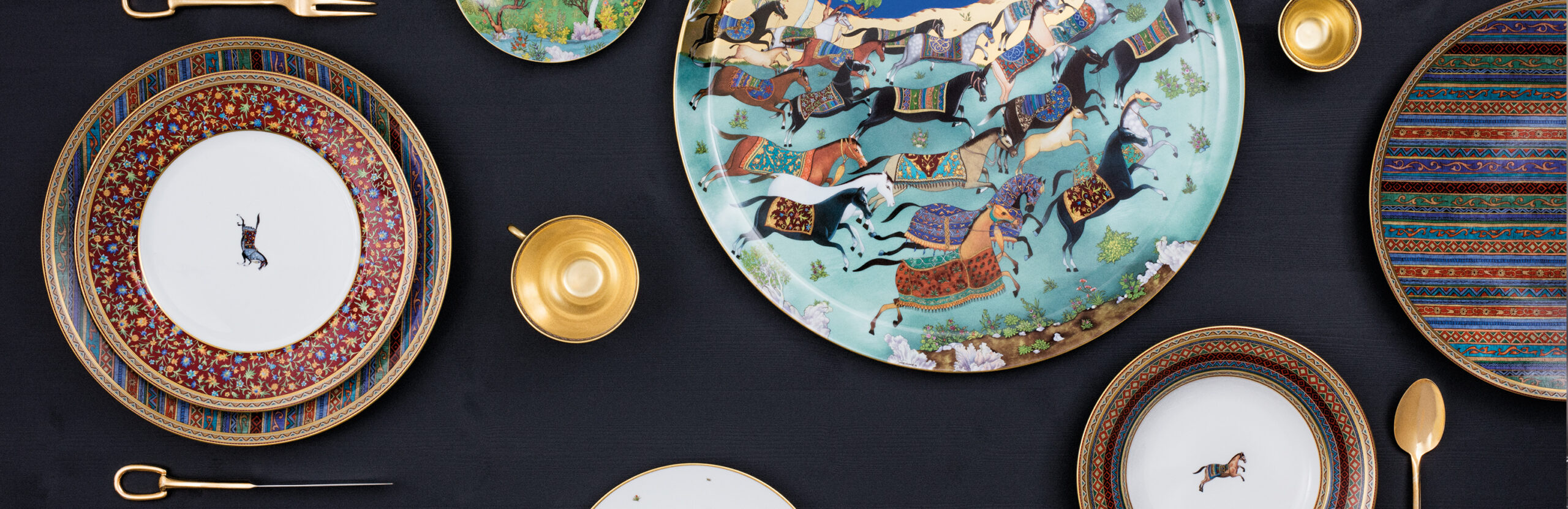 Create family traditions with Hermès porcelain